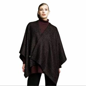 EASKANDAR Mohair Wool Angora Crossover Wrap Jacket
